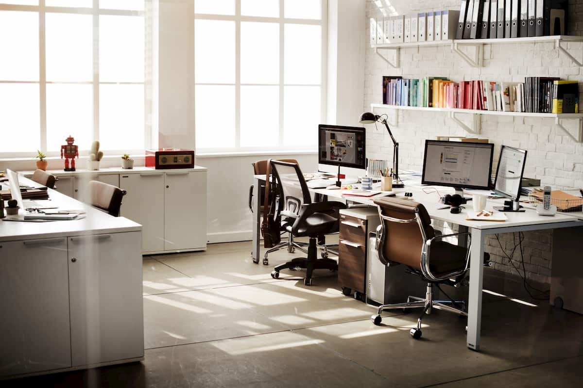 storing office supplies